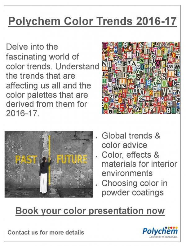color trend presentation polychem coatings